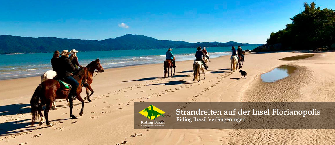 Beach Riding on Florianopolis Island